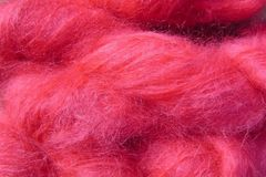 Sun,Red,Mohair,Yarn,Fingering,Weight,Hand Dyed Mohair Yarn Fingering Weight Red eweandmeyarns.com