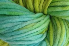 Lime,Ice,Hand,Dyed,Wool,Pencil,Roving,Bulky Yarn Hand Dyed Pencil Roving Aqua Blue Lime Green