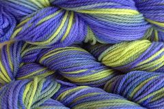 Early,Crocus,Hand,Dyed,Merino,Wool,Worsted,Weight,Hand Dyed Merino Wool Yarn Worsted Weight Green Blue