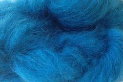 Frost,Blue,Mohair,Yarn,Fingering,Weight,Hand Dyed Mohair Yarn Fingering Weight Aqua Blue eweandmeyarns.com