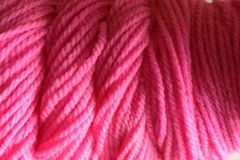 Candy,Pink,Hand,Dyed,Merino,Wool,Yarn,DK,/,Sport,Weight,Hand Dyed Merino Wool Yarn DK / Sport Pink