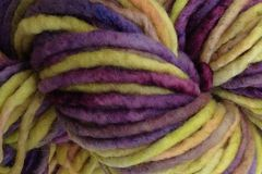 Autumn,Hydrangea,Hand,Dyed,Wool,Pencil,Roving,Hand Dyed Merino Wool Yarn Pencil Roving Green Purple
