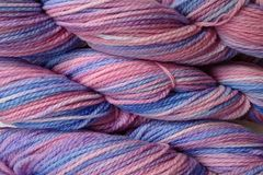 Winter,Wind,Hand,Dyed,Merino,Wool,Worsted,Weight,Hand Dyed Merino Wool Yarn Worsted Weight Pink Purple Blue eweandmeyarns
