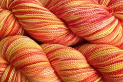 Sunset,Red,Hand,Dyed,Fingering,Weight,Merino Wool Hand Dyed Yarn, Yellow Pink Orange Red, Fingering Weight Yarn,  Super Wash Yarn, eweandmeyarns.com