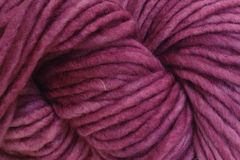 Plum,Pie,Hand,Dyed,Wool,Pencil,Roving,Hand Dyed Merino Wool Yarn Pencil Roving Plum Purple Single Ply Bulky Weight Yarn eweandmeyarns