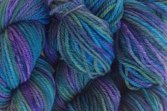 Sea,Turtle,Hand,Dyed,Merino,Wool,Yarn,DK,/,Sport,Wt,Hand Dyed, Merino Wool Yarn, DK / Sport, Purple Blue Green, Knitting Yarn, Hilo, eweandmeyarns.com