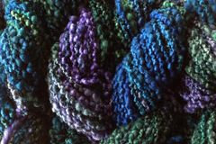 Sea,Turtle,Hand,Dyed,Bumpy,Merino,Yarn,Bulky,Weight,NIndie Dyed, Nubby Yarn, Bumpy Textured Yarn, Sea Turtle, Purple Blue Green, Hand Dyed, eweandmeyarns.com