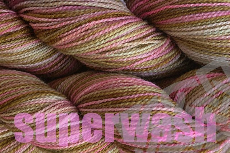 Pink Sand Hand Dyed Fingering Weight - product images  of