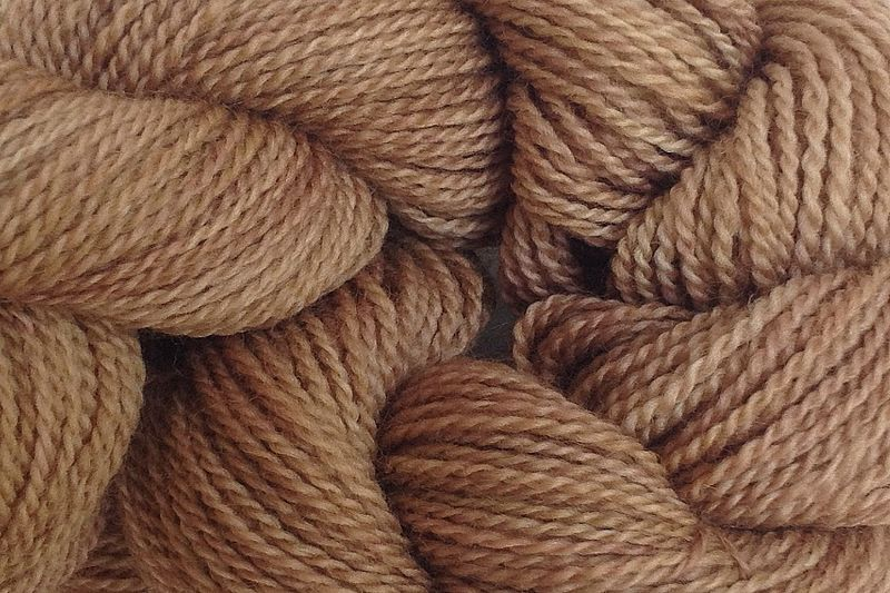 Root Brown Hand Dyed Merino Wool Yarn Lace Weight - product images  of