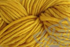 Cab,Yellow,Hand,Dyed,Wool,Yarn,#5,Bulky,Hand Dyed, Merino Wool Yarn, Pencil Roving, #5 Bulky, Cab Yellow, Mustard Yellow, Taxi Cab, Single Ply Yarn, Bulky Weight Yarn, eweandmeyarns