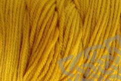 Cab,Yellow,Hand,Dyed,Merino,Wool,Yarn,DK,/,Sport,Wt,Hand Dyed, Merino Wool Yarn, DK / Sport Weight, Cab Yellow, Mustard Yellow, Taxi Cab, eweandmeyarns