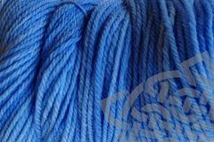 Cowboy,Blue,Hand,Dyed,Merino,Wool,Yarn,Worsted,Wt,Hand Dyed, Merino Wool Yarn, Worsted Weight, Cowboy Blue, Indigo Cowboy, eweandmeyarns.com
