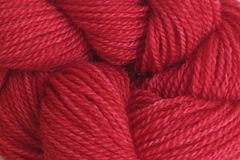 Strawberry Red Hand Dyed Merino Wool Yarn Lace Weight - product images  of