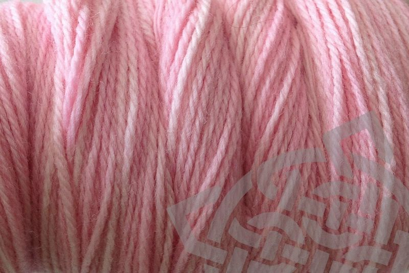 Girlie Pink Hand Dyed Merino Wool Yarn DK / Sport Wt - product images  of