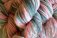 Girlie Girl Hand Dyed Merino Wool Yarn DK / Sport Wt - product images  of