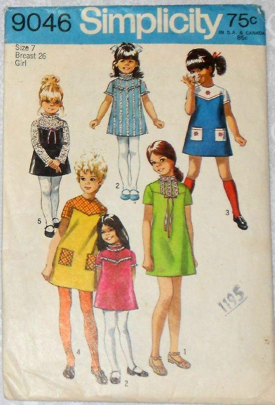 Girls dress w yoke detail s pattern embroidery ribbon