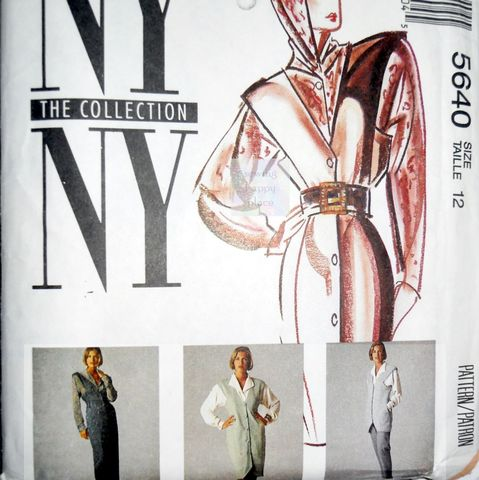 High,Fashion,Jumper,Vest,Pants,1990s,Designer,Pattern.,NY,Collection.,Hoodie,Blouse.,sewinghappyplace, Sewing Pattern, Vintage