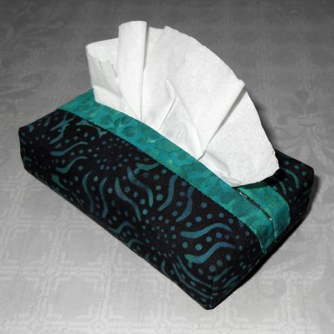 Dark,Starz,Boxy,Pocket,Purse,Tissue,Case.,Ecofriendly.,Travel,Cozy.,Fits,Pack.,Teal,Aqua,Fabric.,sewinghappyplace, fabric, tissue, case, pocket, kleenex, cozy, keeper