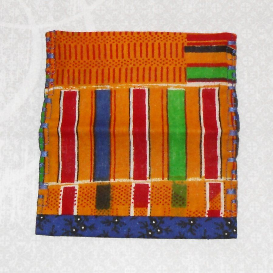 Kente. Fabric Gift Card Wallet. Business Card Holder. Mini Wallet. Ethnic Print. - product images  of