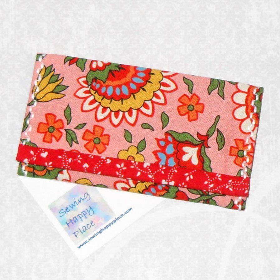 Folksy artsy dutch fabric gift card wallet business card holder folksy artsy dutch fabric gift card wallet business card holder mini wallet magicingreecefo Gallery