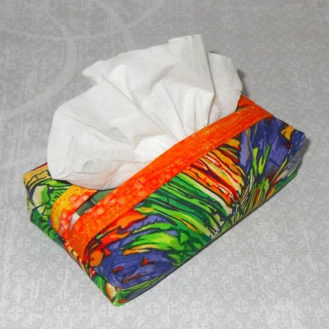 Orange,Kist,Boxy,Pocket,Purse,Tissue,Case.,Ecofriendly.,Travel,Cozy.,Fits,Pack.,sewinghappyplace, fabric, tissue, case, pocket, kleenex, cozy, keeper