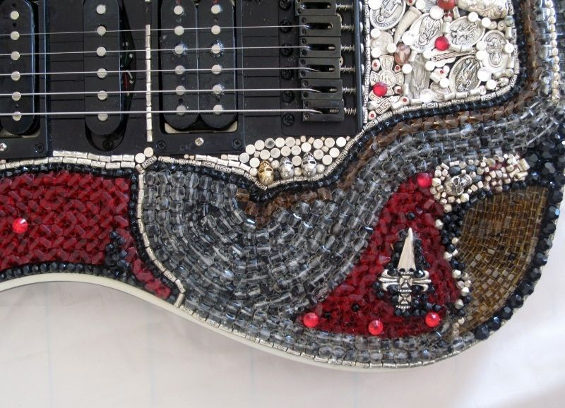 BETO CUEVAS CRYSTAL GUITAR - product images  of