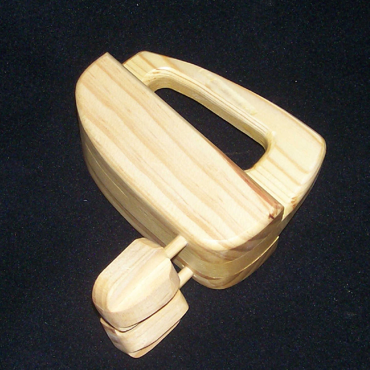 Toy Hand Mixer ~ Hand mixer realistic wooden appliance ss woodcraft
