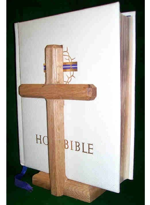 Cross Bible Display Stand Storage SS Woodcraft Beauteous Bible Display Stand