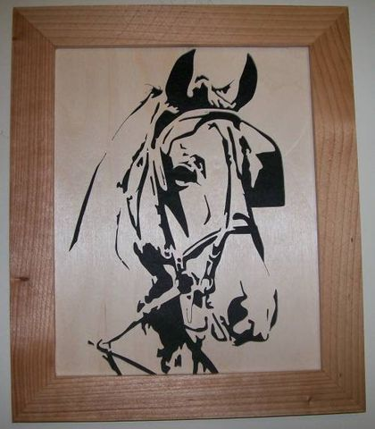 Draft,horse,in,wood,scroll,saw,picture,woodworking, fretwork, home_decor, wall_hanging, picture, portrait, horse, draft_horse, wood, art,
