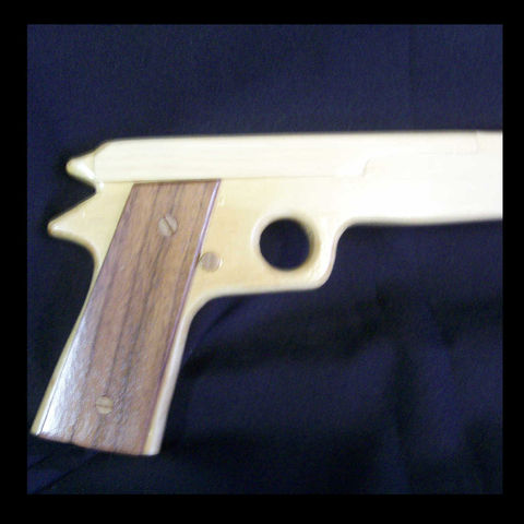 Handgun,shaped,walking,cane,semi,automatic,pistol,Woodworking,  Accessories,  cane, walking_cane, gun, pistol,  semi_automatic, weapon, walking_stick, unique