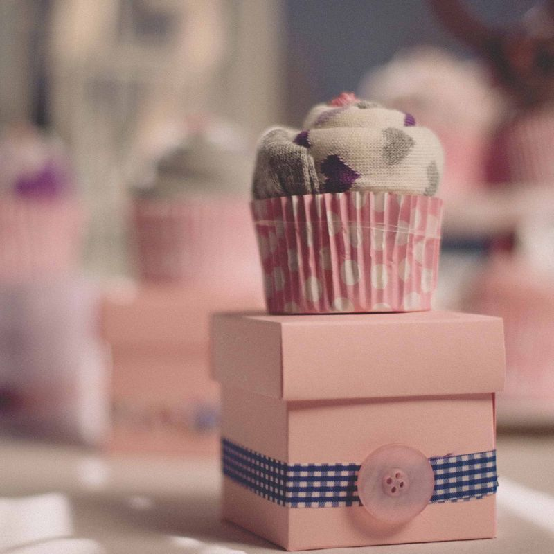 Ladies Sock Cupcake - product images  of