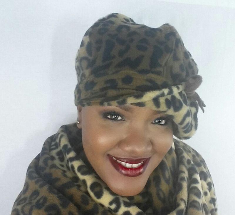Leopard Fleece Hat - Crylittle Designs 65f8c0a3a0fa