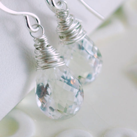 Crystal,Quartz,Earrings,Wrapped,in,Sterling,Silver,Jewelry,Wire_Wrapped,quartz_earrings,quartz_jewelry,crystal_quartz,sterling_silver,gemstone_earrings,gemstone_jewelry,gemstone,semiprecious,aaa,jewellery,sterling_jewelry,silver_jewelry,under_25_dollars