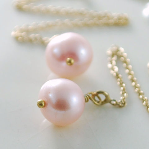 Pink,Pearl,Threader,Earrings,Gold,Jewelry,Wire_Wrapped,threader,gold_filled,delicate,genuine,freshwater_pearl,birthstone,pretty,June,jewellery,pink_pearl_threader,pearl_threaders,pearl_jewelry,pearl_earrings,gold_fill