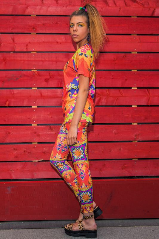 Lion Around Leggings - product images  of