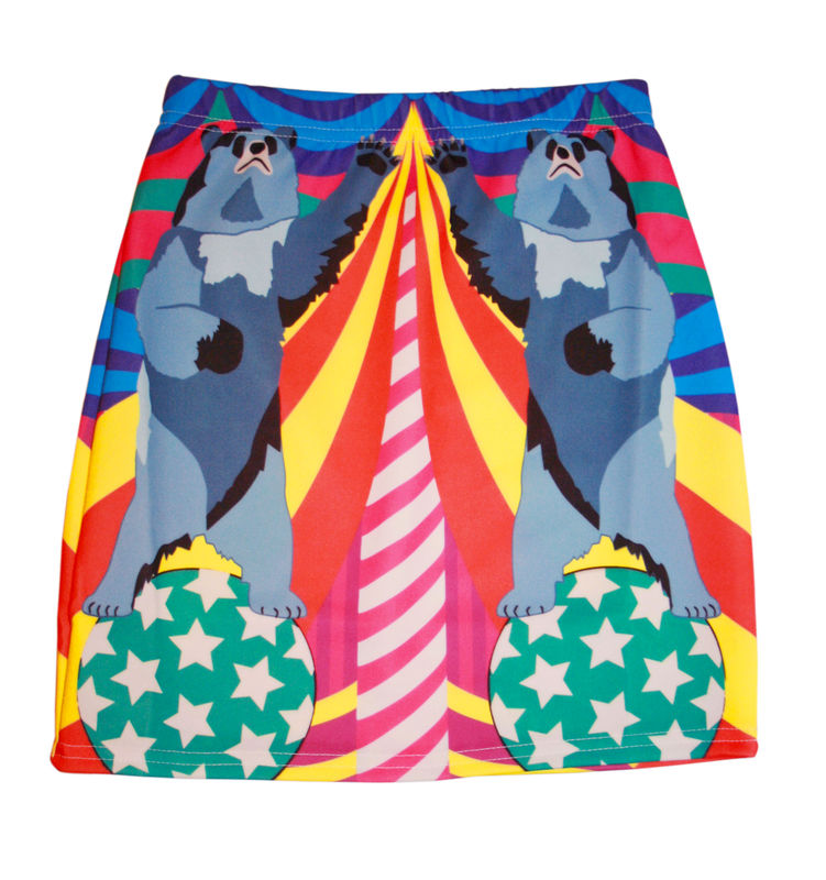 Bear With Me Super Mini Skirt - product images  of
