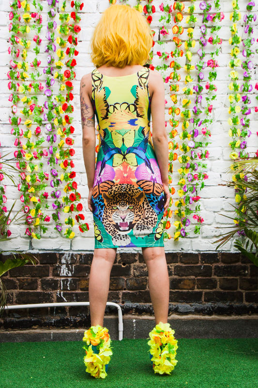 Jungle Fever Bodycon Dress - product images  of