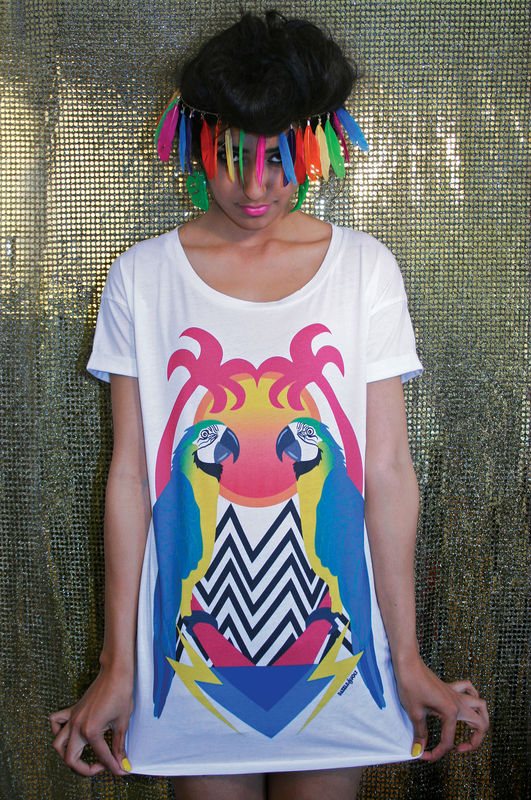 Parrot Paradise T-Shirt - product images  of