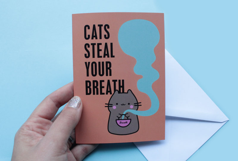 Cats Steal Your Breath For Real