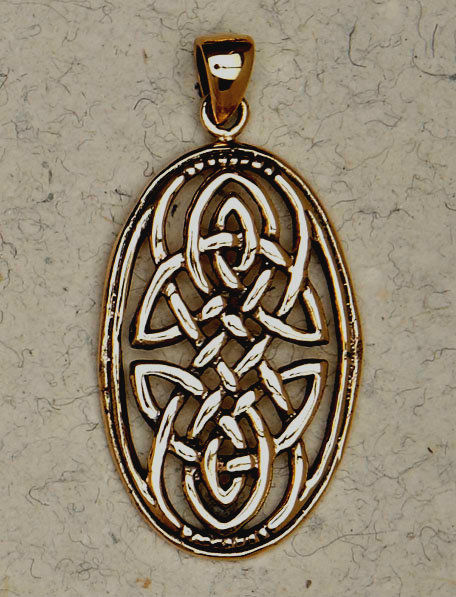 Celtic Dream Weaver Bronze Amulet  Pendant - product images