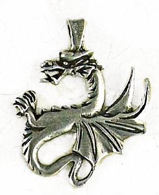 Renaissance dragon pendant old world jewelry component silver renaissance dragon pendant old world jewelry component product images mozeypictures Gallery