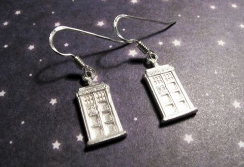 Sterling,Silver,Mini,Police,Box,Earrings,inspired,by,Doctor,Who,police box, doctor who earrings, sterling silver, 925 sterling, tardis earrings, sterling tardis, dr who, jewelry, geeky jewelry, sterling geeky jewelry, geek chic, nerdy, call box, police box earrings