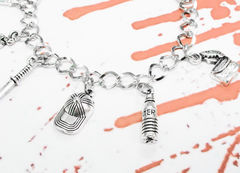 Walking Dead Inspired Charm Bracelet - product images  of