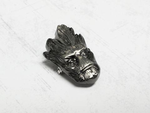 Groot,Pewter,Lapel,Pin,groot pin, lapel pin, tie pin, pewter pin, guardians of the galaxy, silver, black, geeky, mens, marvel