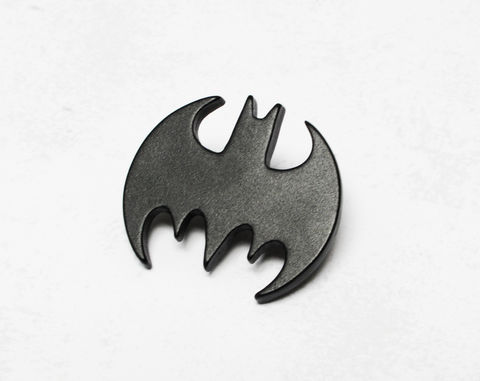 Batman,Pin,,black,batman pin, lapel pin, black, bat logo pin, hat pin, bag pin, metal, comics, comic book geek