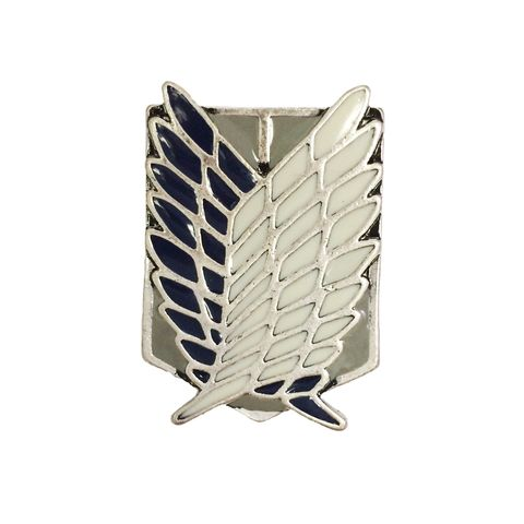 Attack,on,Titan,Wings,of,Freedom,Pin,Large,attack on titan, enamel pin, SNK, shingeki no kyojin, wings of freedom, scouting legion, badge, brooch, emblem