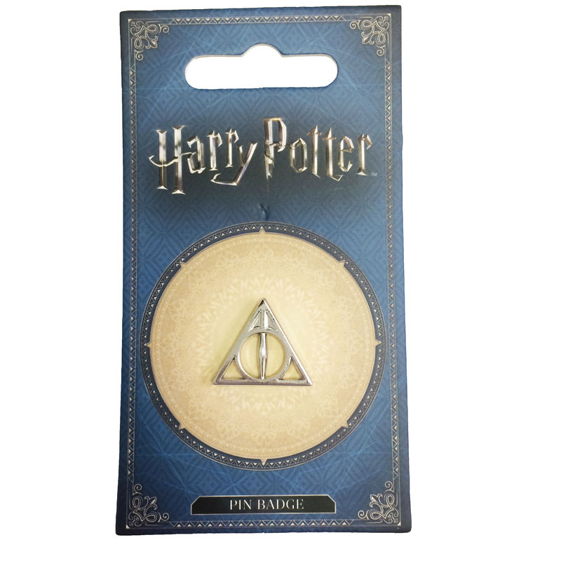 Harry Potter Deathly Hallows Silver Pin - product images  of