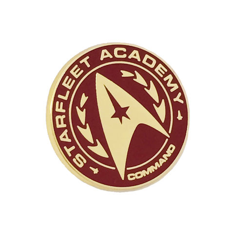 Starfleet,Academy,Enamel,Pin,star trek, starfleet academy, metal pin, enamel pin, badge, color, collectors, star fleet, trekkie