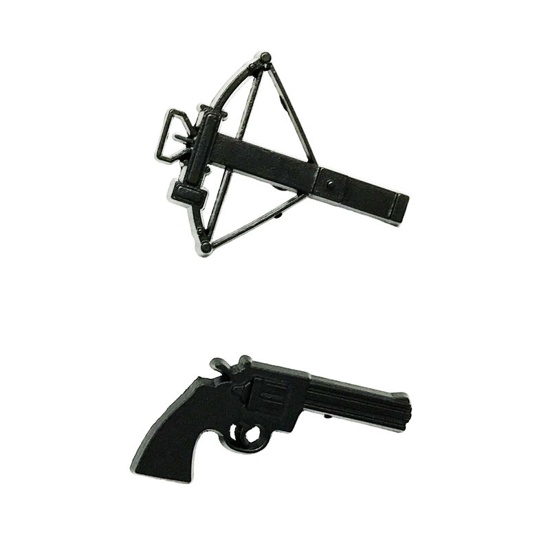 Good Walking Dead Gun And Crossbow Pin Set   Product Images Of