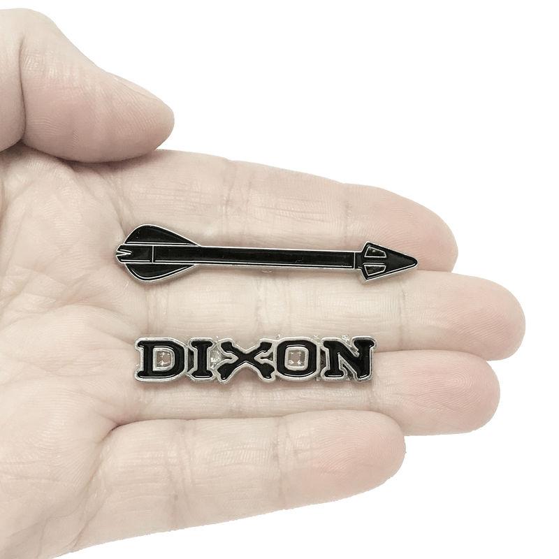 Walking Dead Daryl Dixon Enamel Pin Set   Product Images Of